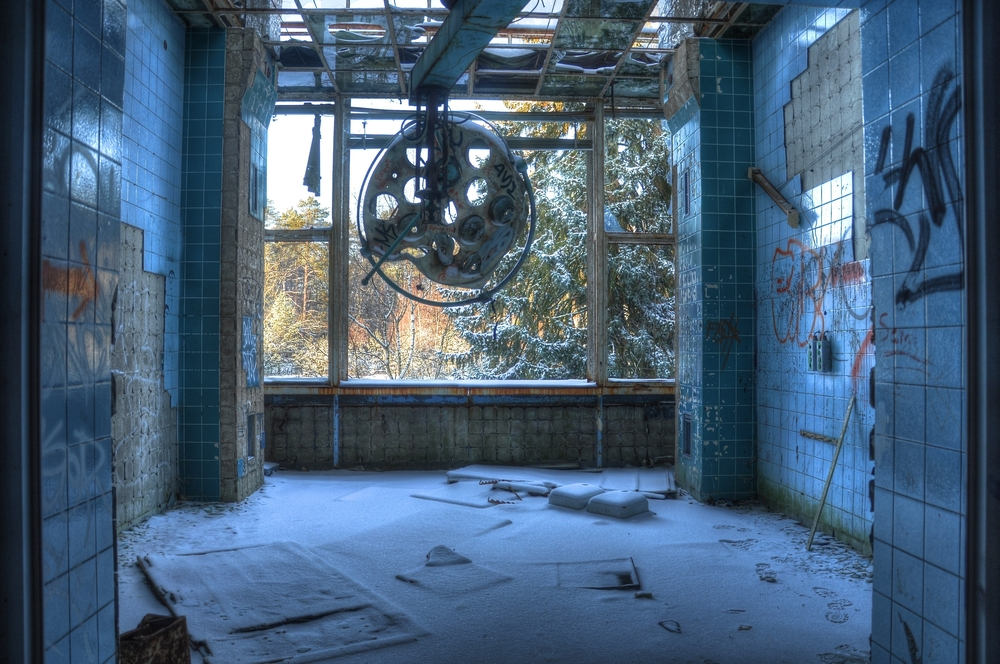 abandoned hospital beelitz germany