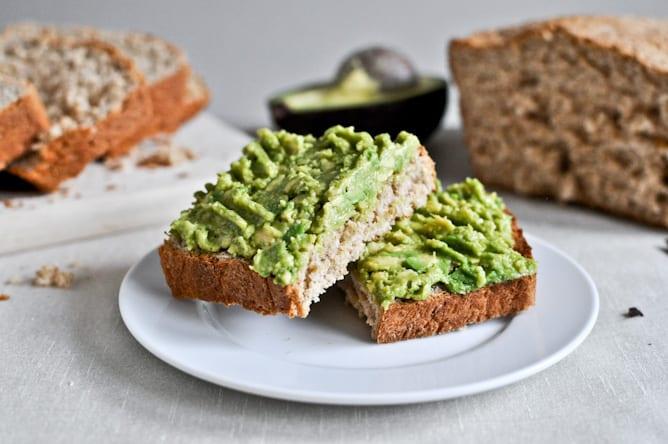 healthy yoga diet avocado