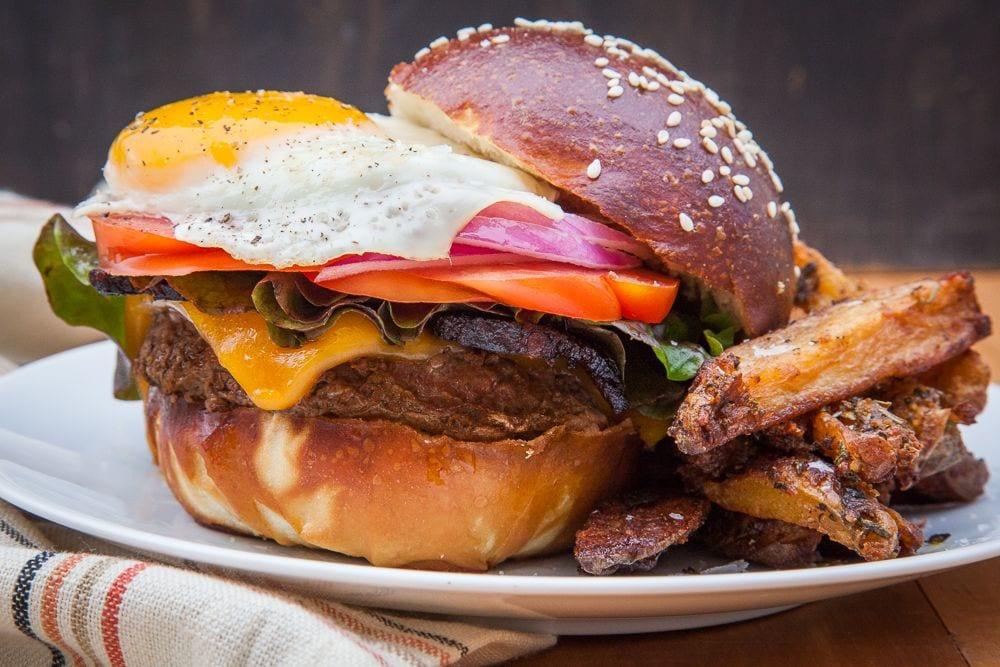 alternative burger recipes bison burger
