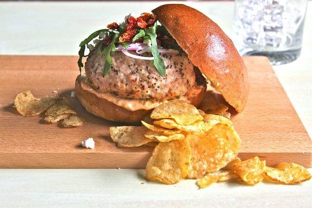 alternative burger recipes turkey burger