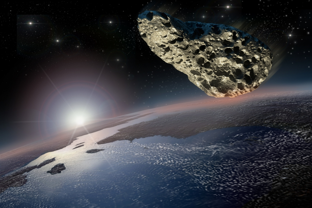 The RF-12 Asteroid is one of many near-earth objects