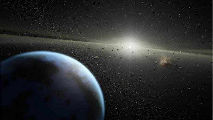 The Asteroid GM3 is just 60 miles from earth