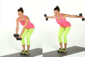 back exercises for women Reverse Fly