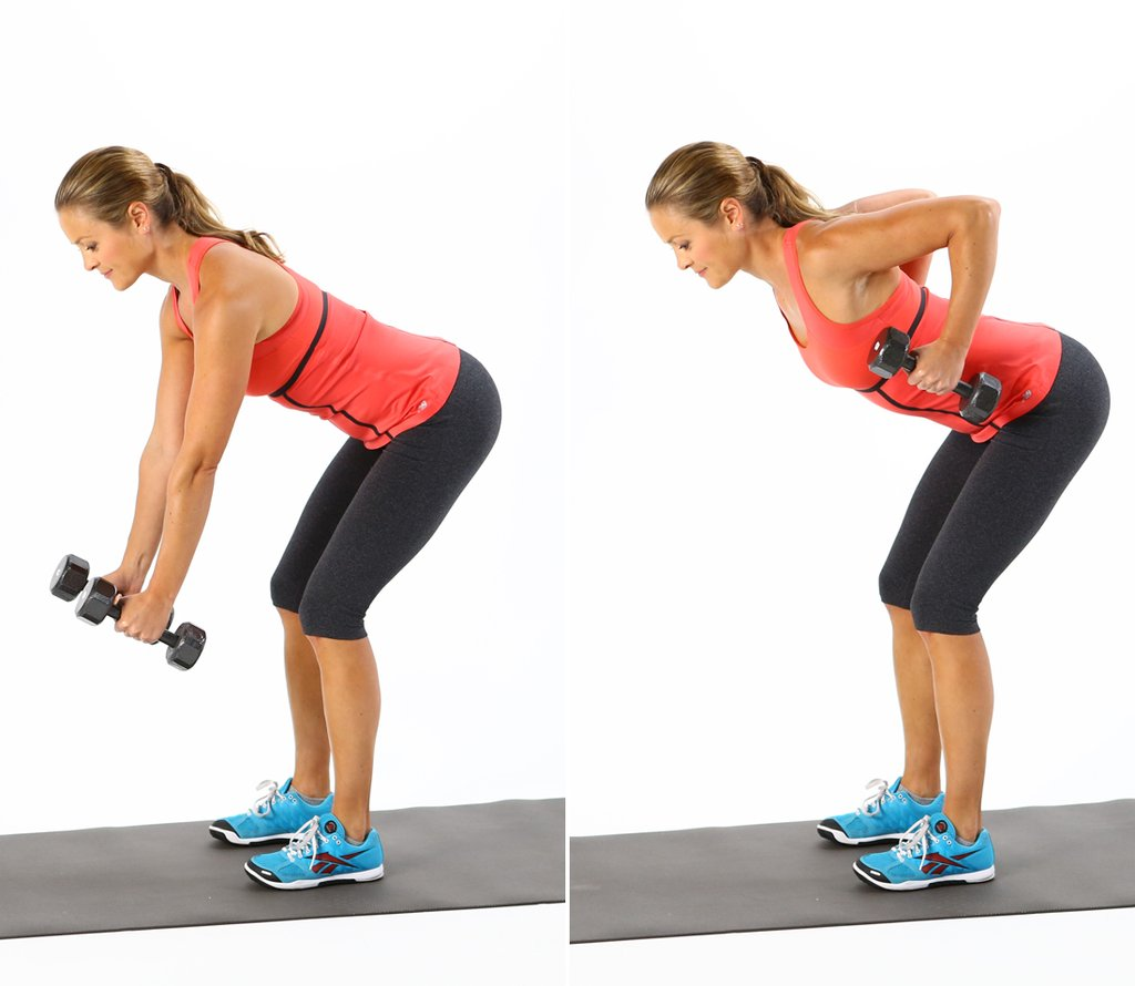 back exercises for women Bent Over Rows