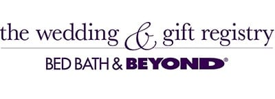 bed bath & beyond wedding registry