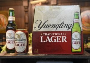 best beer for beer pong Yuengling