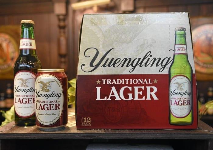 best beer for beer pong Yuengling