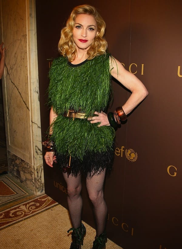 celebrity fashion fails madonna