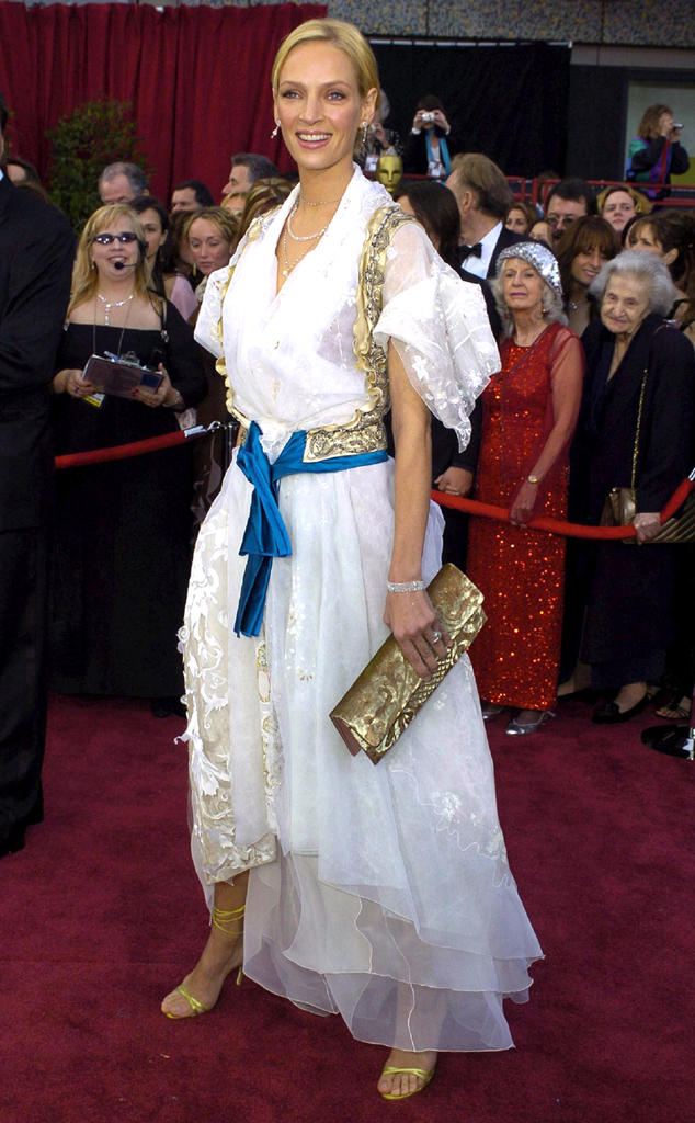 celebrity fashion fails uma thurman