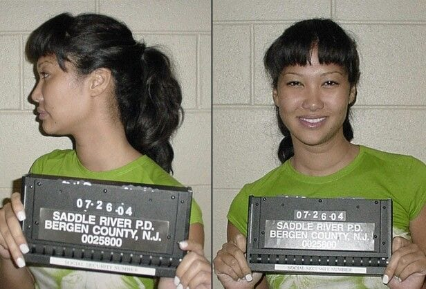 celebrity mug shots kimora lee