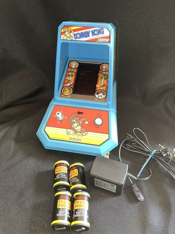 Donkey Kong table arcade by Coleco