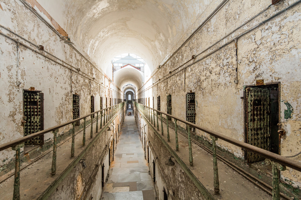 eastern state penitentiary, pennsylvania, usa old scary prison