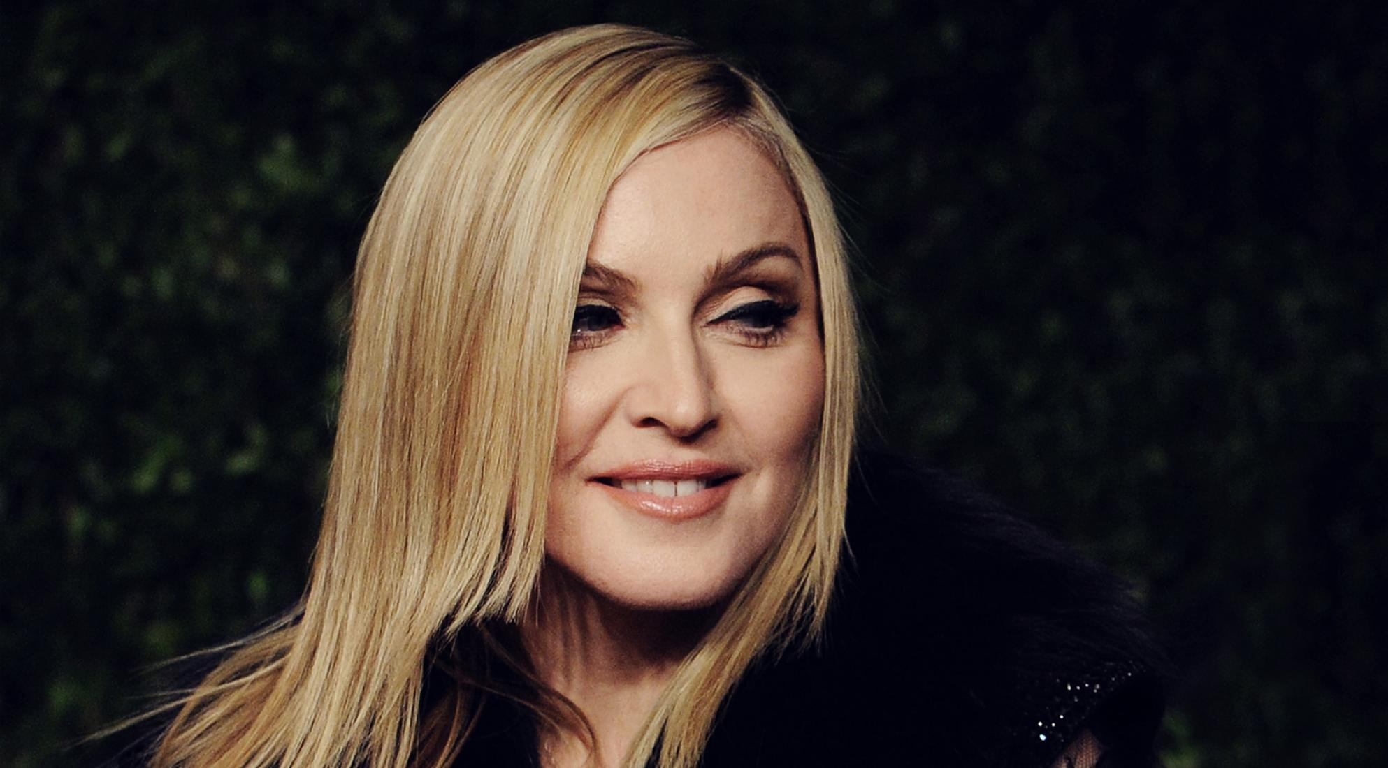 Madonna - The Pop Queen worked in the Dunkin Donuts and other places before the fame