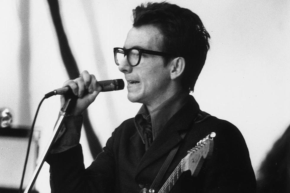 Elvis Costello - The Famous singer served as a bank clerk in his unexpected job before the stardom