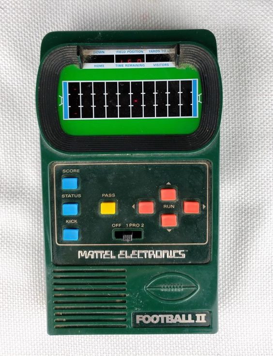 football ii (classic football ii) by mattel - 1978