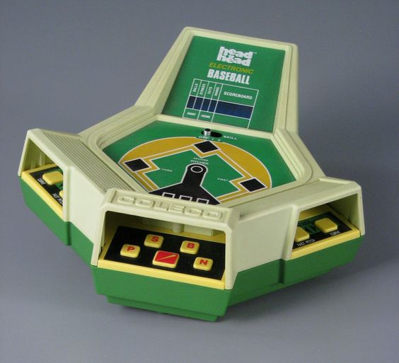 Head to head baseball by Coleco - 1982