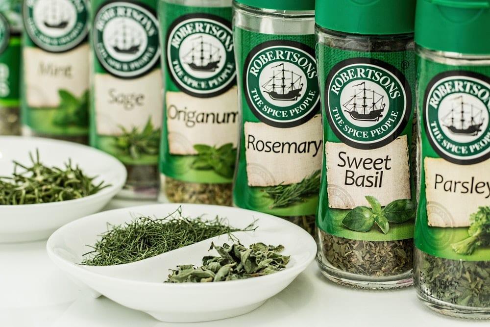 herbs flavoring seasoning cooking
