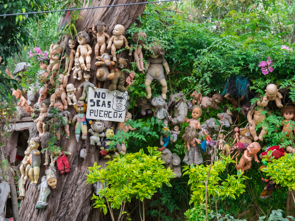 island of dolls mexico haunting terrifying place