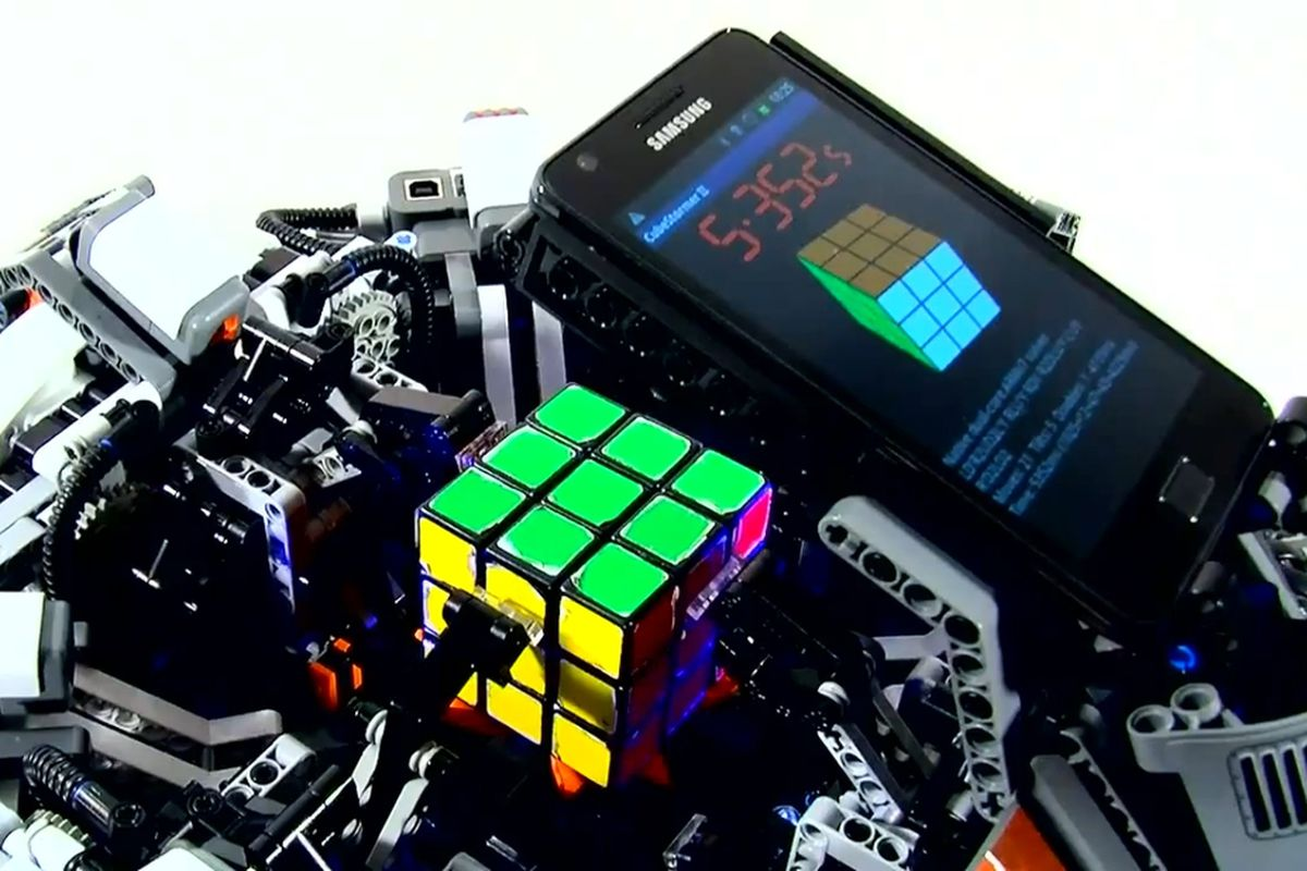 Legos - CubeStormer 3