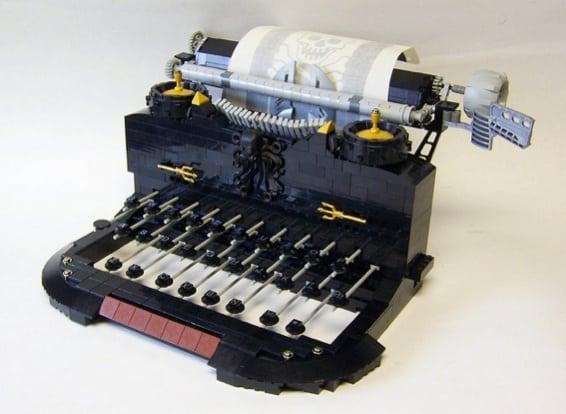 Legos Typewriter