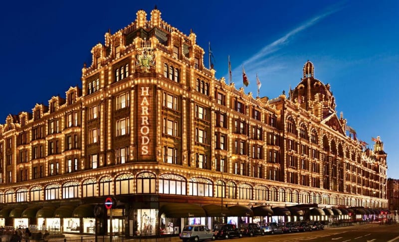 london attractions harrods