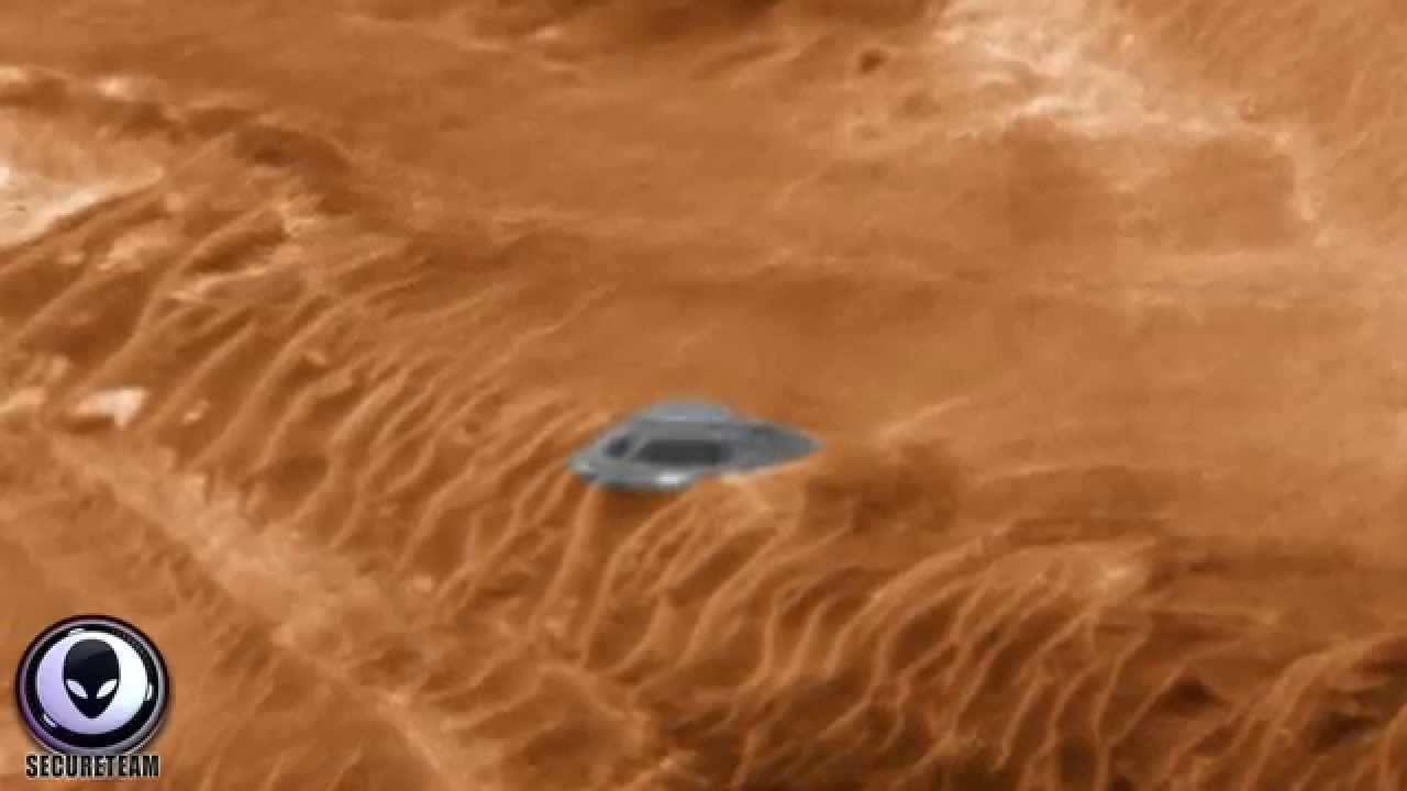 Another major UFO conspiracy is on the red planet where Aliens were said to have lived