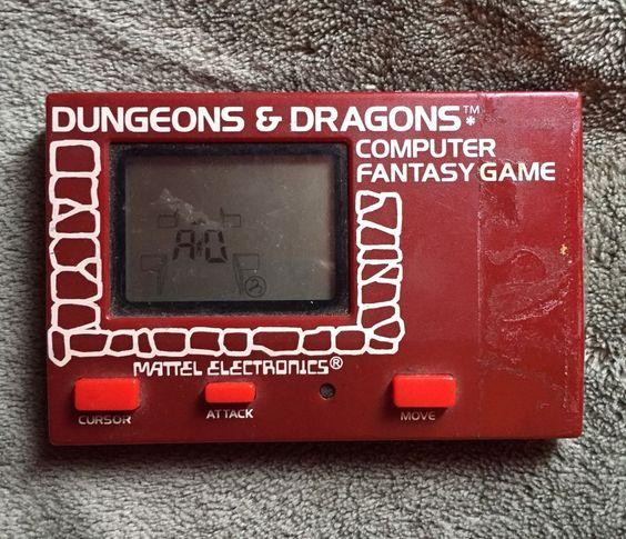 Mattel Electronics - Dungeons & Dragons