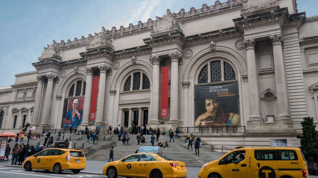 The Met, one of the most-do attractions in NYC