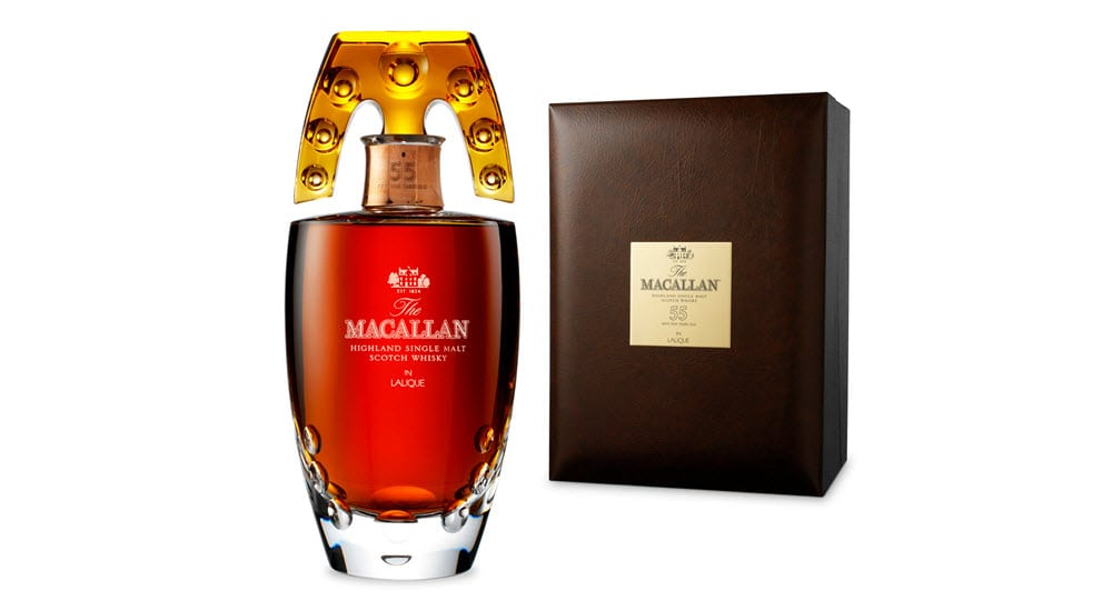 Macallan 55 whiskey malt Cocktail is one of the most expensive cocktails in the world specially serves in a Golden Goblet
