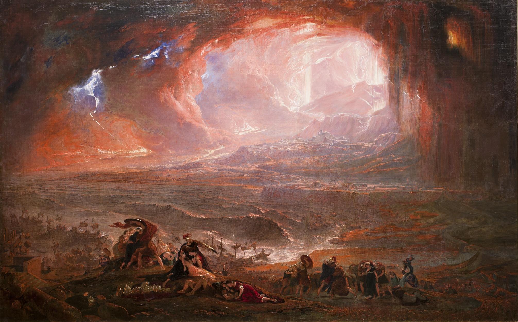 The destruction of Pompei