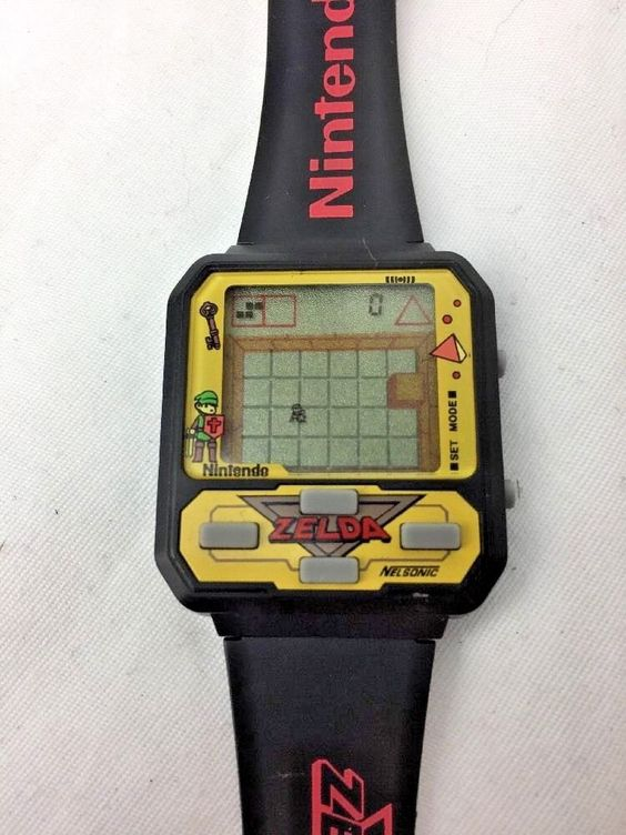 nelsonic - zelda game watch