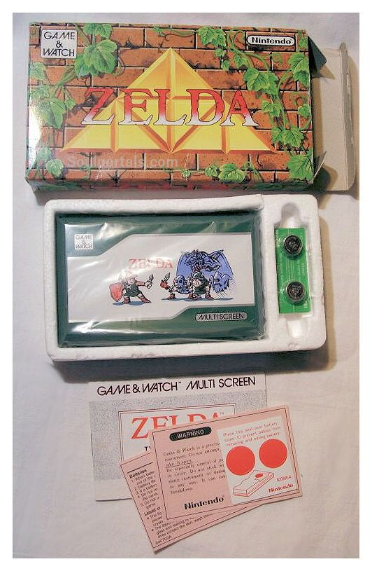 nintendo - zelda game & watch 1989