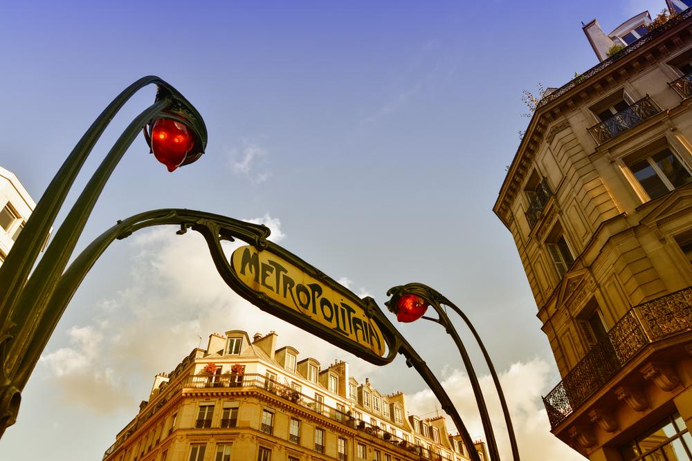 paris metro attraction