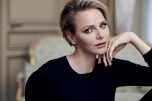 Princess Charlene strikes a model pose - She is no doubt one hot princess