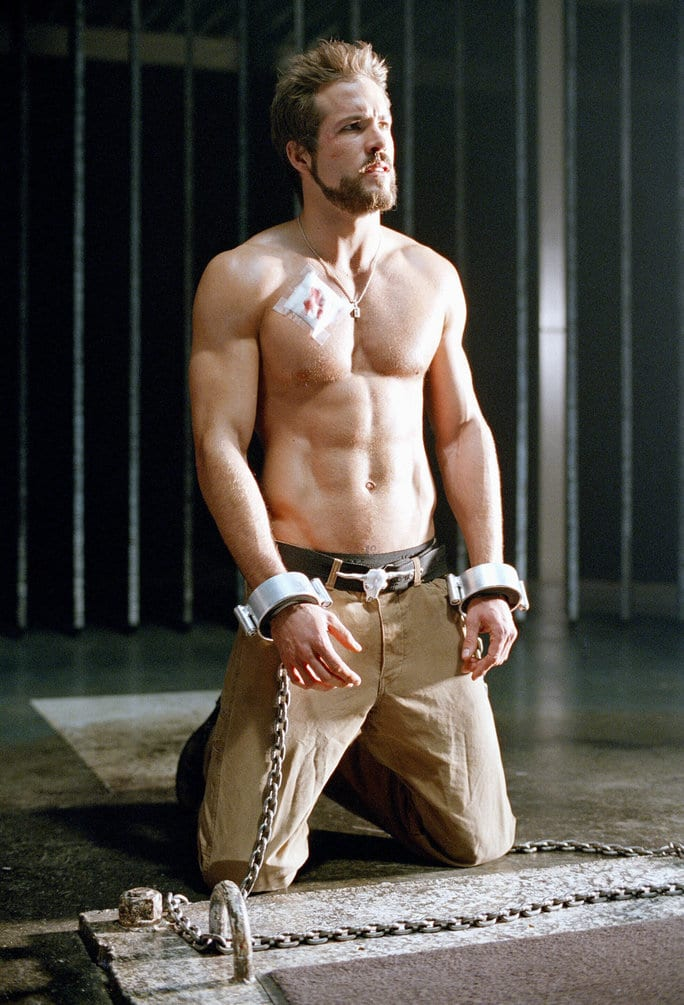 Ryan Reynolds is a sexy male celebrity