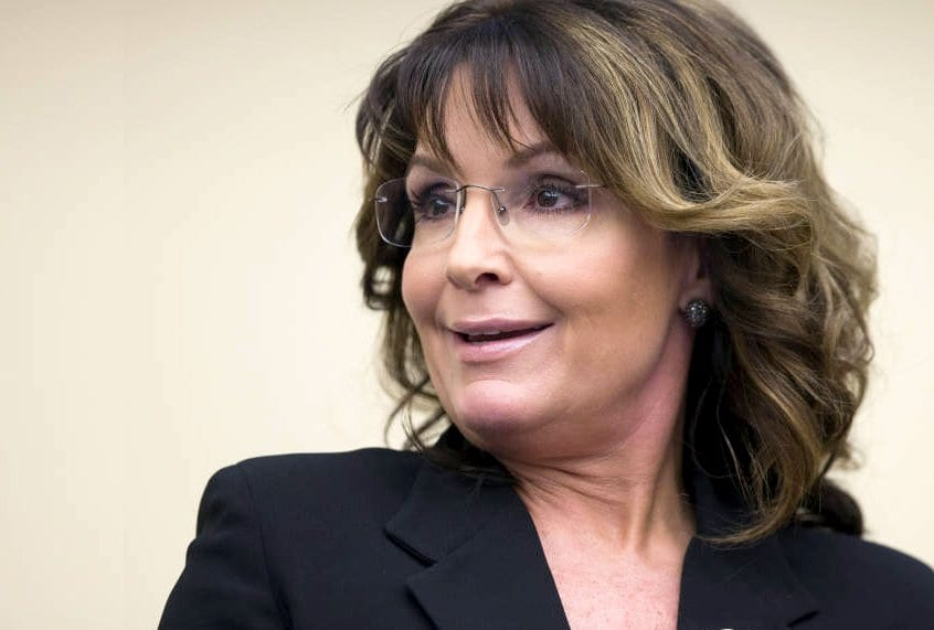Sarah Palin was the former governor of Alaska and a former beauty paegant contestant
