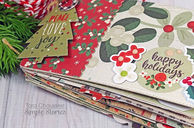 Christmas Scrapbook - Handmade and so simple