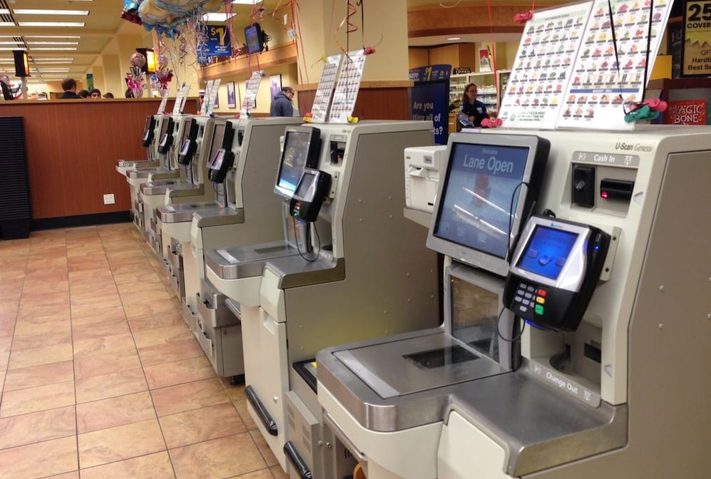 self checkout new technologies