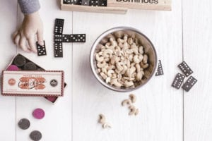 Checkers & Dominoes - Game Night with your lover is one of the surprise ideas to help the nostalgia of childhood in your lover