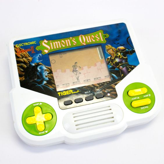 Tiger Electronics - Electronic Castlevania II Simon Search