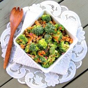 vegan protein broccoli