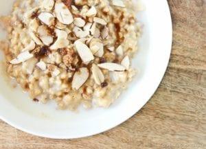 vegan protein almonds