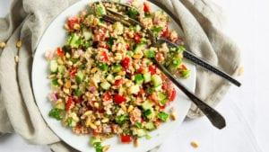 vegan protein quinoa