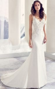 wedding dress styles sheath