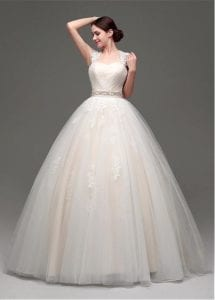 wedding dress styles ball gown