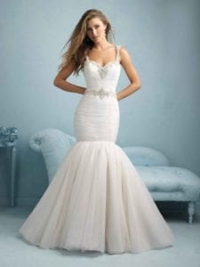 wedding dress styles mermaid