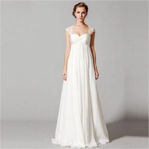wedding dress styles empire