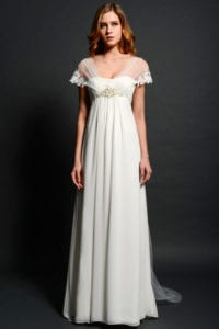 wedding dress styles empire