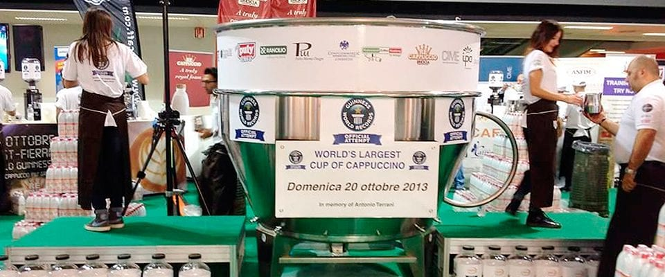 This is the largest cup of cappuccino in the world