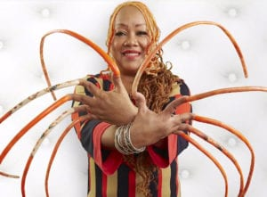 Ayanna Williams holds the weird world record for the longest finger nails
